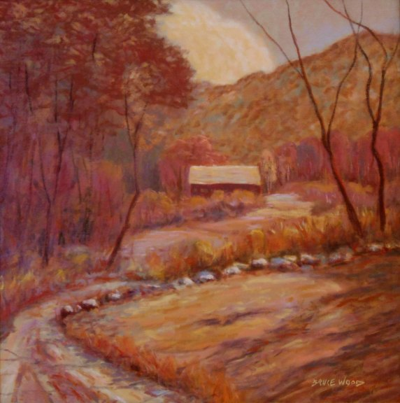 New England Fall Landscape Painting